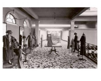 The gown showroom, 1935