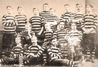 Gloucester Rugby Team 1876/77 Season