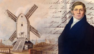 The oldest letters collected so far are from William Vine, a Brighton windmill owner writing in the 1830s