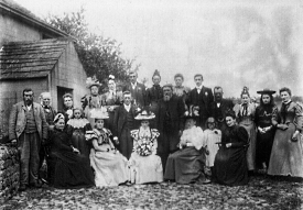 Tatham wedding party 1897