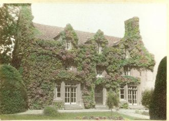 The Hall, Witcham, 1950
