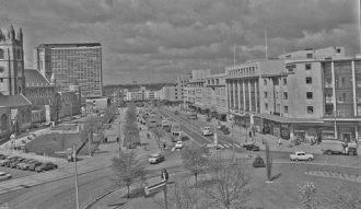 Royal Parade, Plymouth, 1962