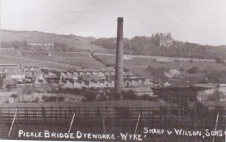 Pickle Bridge Dyeworks, cira 1900