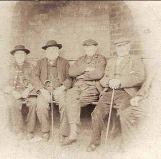 Local residents, circa 1860