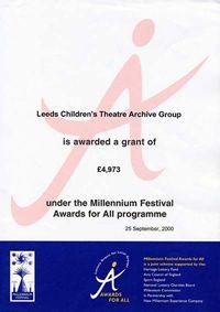 Leeds Children's Theatre Archive