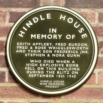 Hindle House War Memorial Project