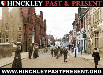 A Past and Present view of Station Road in Hinckley, Leicestershire | Graham Day