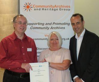 Leyland Historical Society best Website winner