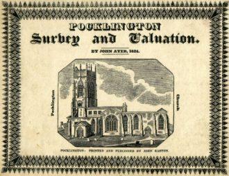 1824 Survey of Pocklington