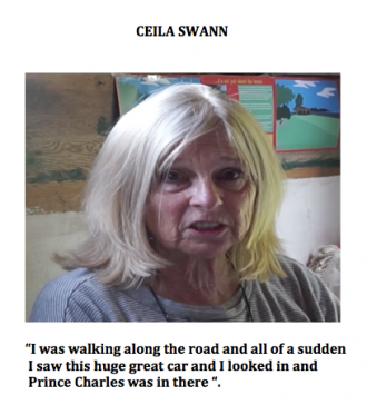 Ceila's memory | Ceila Swann and Tim Francis photo