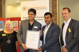 The Apna Heritage Archive Winner of the 'Best New Group
