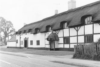 Thatched buildings in Braunstone, Leicestershire | Braunstone Heritage Archive Group