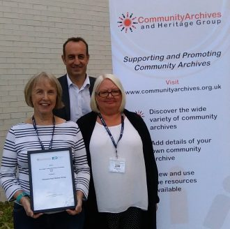 Clements Hall Local History Group winners of the Digital award