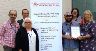 100 Homes overall winners Best Community Archive and Heritage Group of 2018 | CAHG