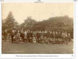 Longstowe Rectory, 1905 | Longstowe Archive
