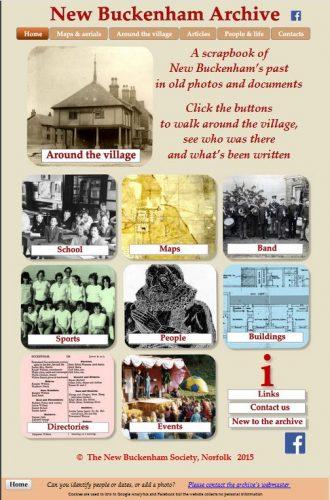 New Buckenham Archive homepage