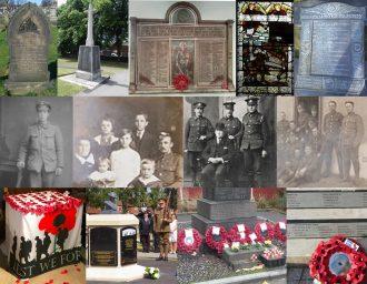 A Barnsley FWW Commemorative Collage