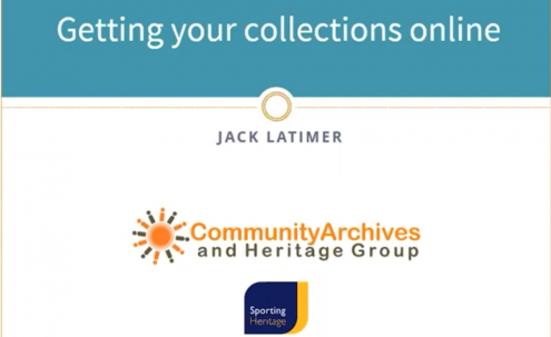 Getting Your Collections Online